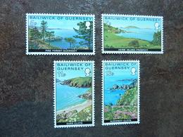1976  Guernsey Views   SG = 141 / 144  **  MNH - Guernesey