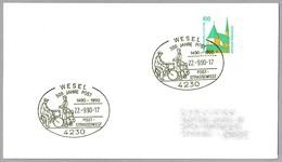 500 AÑOS DE CORREO - Carteros - Postmen. Wesel 1990 - Post