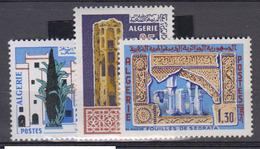 ALGERIE      1967     N °  441 / 443        COTE    3 € 65        ( E 228 ) - Algeria (1962-...)
