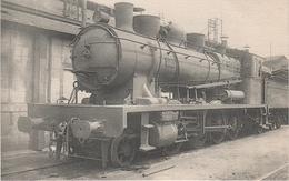 AK Les Locomotives Francaises Sud Ouest Ex P O 446 Locomotive Machine No 5071 S 140 C 071 Chemin De Fer Train Périgueux - Périgueux