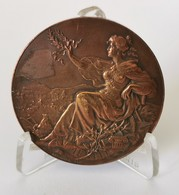 Médaille Cours Girardin-Marchal 1ère Division Solfège 1907 - Frankrijk
