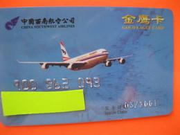 "Telecarte Frequence  Avion ""point Miles"" Ou Autres - Phonecards"