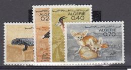 ALGERIE      1967     N °  447 / 450        COTE    5 € 50        ( E 229 ) - Algeria (1962-...)
