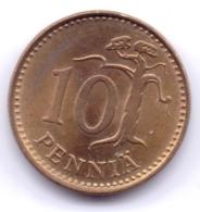 FINLAND 1981: 10 Penniä, KM 46 - Finland