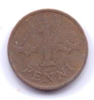 FINLAND 1968: 1 Penni, KM 44 - Finland