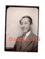 Photo Portrait Identité Garcon Sourire Enfant 5x4 Cm - Personnes Anonymes