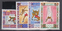 ALGERIE      1972     N °  545 / 548        COTE    4 € 50        ( E 230 ) - Algeria (1962-...)