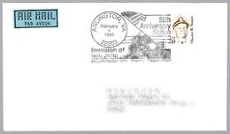 50 Años INVASION DE IWO JIMA - 50th Anniv. INVASION OF IWO JIMA. Arlington VA 1995 - WW2 (II Guerra Mundial)