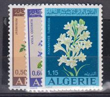 ALGERIE      1972     N °  551 / 553        COTE    4 € 20        ( E 231 ) - Algeria (1962-...)