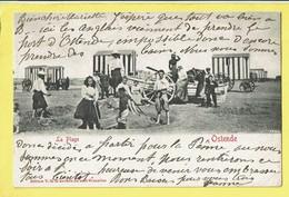 * Oostende - Ostende - Ostend (Kust - Littoral) * (Edition V.G.) La Plage, Strand, Beach, Cabines, Animée, Enfant, TOP - Oostende
