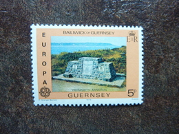 1978  Europa Monuments  SG = 165  **  MNH - Guernesey