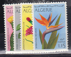 ALGERIE      1973     N °  568 / 571        COTE    9 € 00        ( E 232 ) - Algeria (1962-...)