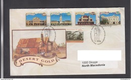 AUSTRALIA, FDC  - DESERT GOLD, REPUBLIC OF MACEDONIA ** - Minerales