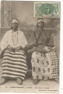 CPA, Guinée Française , N°21, Kade - Femmes Foulahs , Ed.,1913 ,Avec Timbre - Frans Guinee
