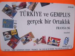 "Telecarte De Turquie ""gemplus"" - Turkije"