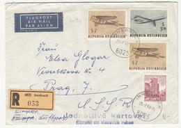 Austria Letter Cover Registered Posted 1968 Innsbruck Pmk B200601 - 1961-70 Briefe U. Dokumente