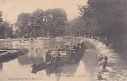 CP 51 Marne Sept-Saulx Le Port  Librairie Militaire Guérin - Autres Communes