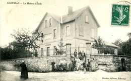 ALBUSSAC   =   La  Maison  D' école  ..   1494 - Other Municipalities