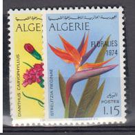 ALGERIE      1974     N °  590 / 591        COTE    4 € 95        ( E 233 ) - Algeria (1962-...)