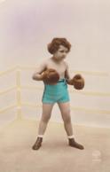 CPA - Le Petit Boxeur - Boxing