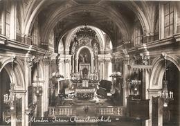 242/FG/20 - MONDOVI' (CUNEO) - FRAZIONE GRATTERIA: Interno Chiesa Parrocchiale - Cuneo