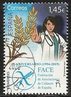 2020-ED. 5387 -25 Aniversario FACE. CELIACOS- USADO - 1931-Oggi: 2. Rep. - ... Juan Carlos I