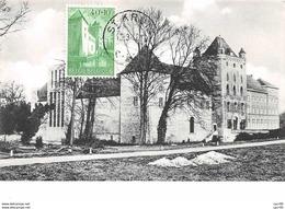 1962 .carte Maximum .belgique .102668 .abbaye St Trudo .cachet St Kruis . - Maximum Cards