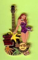 Pin's Hard Rock Café Orlando Happy New Year Guitare Feux D'Artifice (Double Moule) - HRC12 - Musique