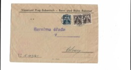 Brief Aus Prag 1944 - Bohemia Y Moravia