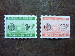 1980  Postage Due St Peter's Port    SG = D27 / D28   ** MNH - Guernesey