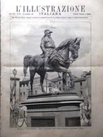 L'Illustrazione Italiana 28 Settembre 1890 Firenze Rua A Vicenza Grossi Bellano - Vor 1900