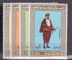 ALGERIE      1975     N °  606 / 609        COTE    8 € 00        ( E 235 ) - Algeria (1962-...)
