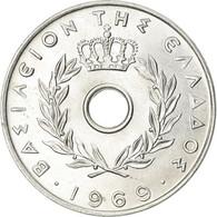 Monnaie, Grèce, 20 Lepta, 1969, FDC, Aluminium, KM:79 - Grecia
