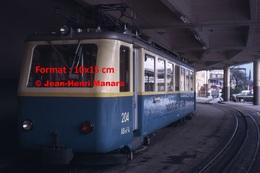 ReproductionPhotographie D'un Train à Crémaillère Des Rochers De Naye à Montreux En Suisse De 1965 - Reproductions