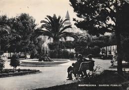 Cartolina - Postcard /   Viaggiata - Sent /  Manfredonia, Giardini Pubblici.  ( Gran Formato ) - Manfredonia