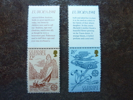 1981  Europa Folklore     SG = 230 / 231   ** MNH - Guernesey