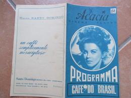 NAPOLI Cinema Acacia Programma Film Audrey Hepburn Peter O'Toole Come Rubare Un Milione Di Dollari E V Pubblicità Epoca - Programs