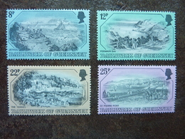 1982  Old Gravures      SG = 249 / 252   ** MNH - Guernesey