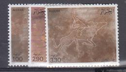 ALGERIE      1987     N °  892  / 894       COTE    5 € 75        ( E 238 ) - Algeria (1962-...)