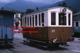 ReproductionPhotographie D'un Wagon AL à Aigle à En Suisse De 1965 - Reproductions