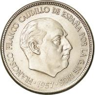 Monnaie, Espagne, Caudillo And Regent, 5 Pesetas, 1964, SUP, Copper-nickel - [ 5] 1949-… : Koninkrijk