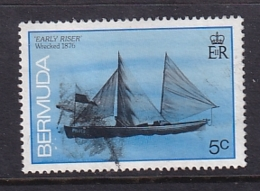 Bermuda: 1986/90   Ships    SG508A   5c  [no Imprint Date]   Used - Bermuda