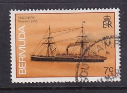 Bermuda: 1986/90   Ships    SG509A   7c  [no Imprint Date]   Used - Bermuda