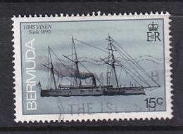 Bermuda: 1986/90   Ships    SG512A   15c  [no Imprint Date]   Used - Bermuda