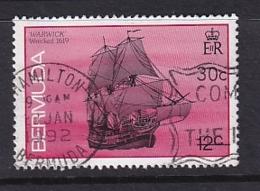 Bermuda: 1986/90   Ships    SG511A   12c  [no Imprint Date]   Used - Bermuda