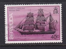 Bermuda: 1986/90   Ships    SG515A   40c  [no Imprint Date]   Used - Bermuda