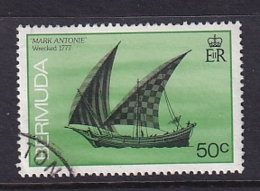 Bermuda: 1986/90   Ships    SG516A   50c  [no Imprint Date]   Used - Bermuda
