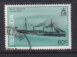 Bermuda: 1986/90   Ships    SG517A   60c  [no Imprint Date]   Used - Bermuda