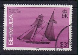 Bermuda: 1986/90   Ships    SG521B   $3  [imprint Date '1989']   Used - Bermuda