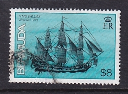 Bermuda: 1986/90   Ships    SG523A   $8  [no Imprint Date]   Used - Bermuda